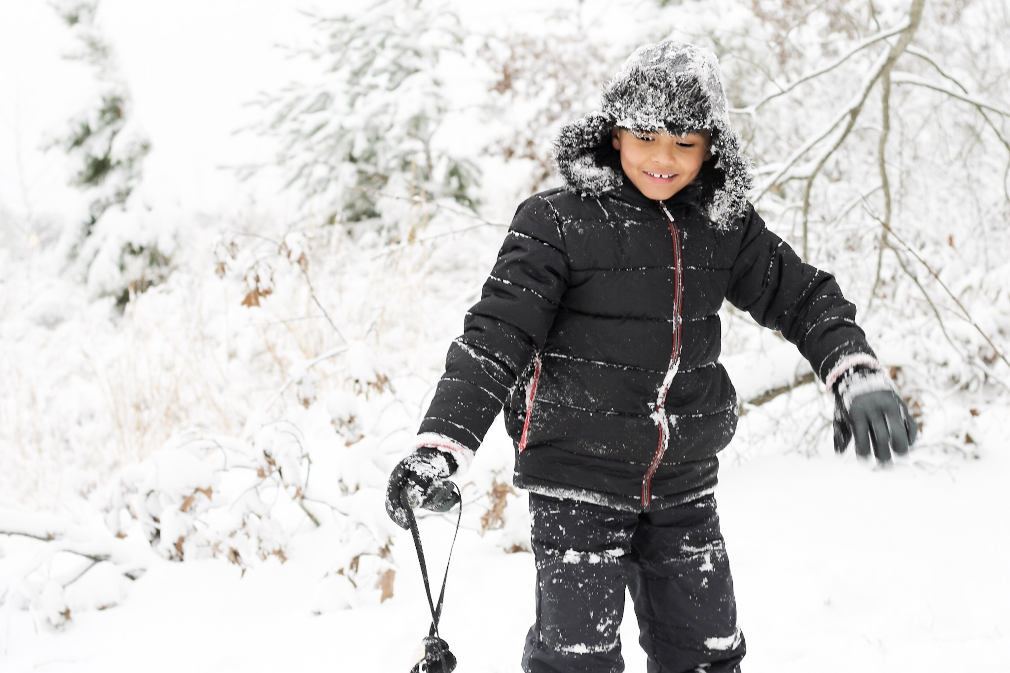 Target model, blasian boy, baby Bruno Mars , snow suit
