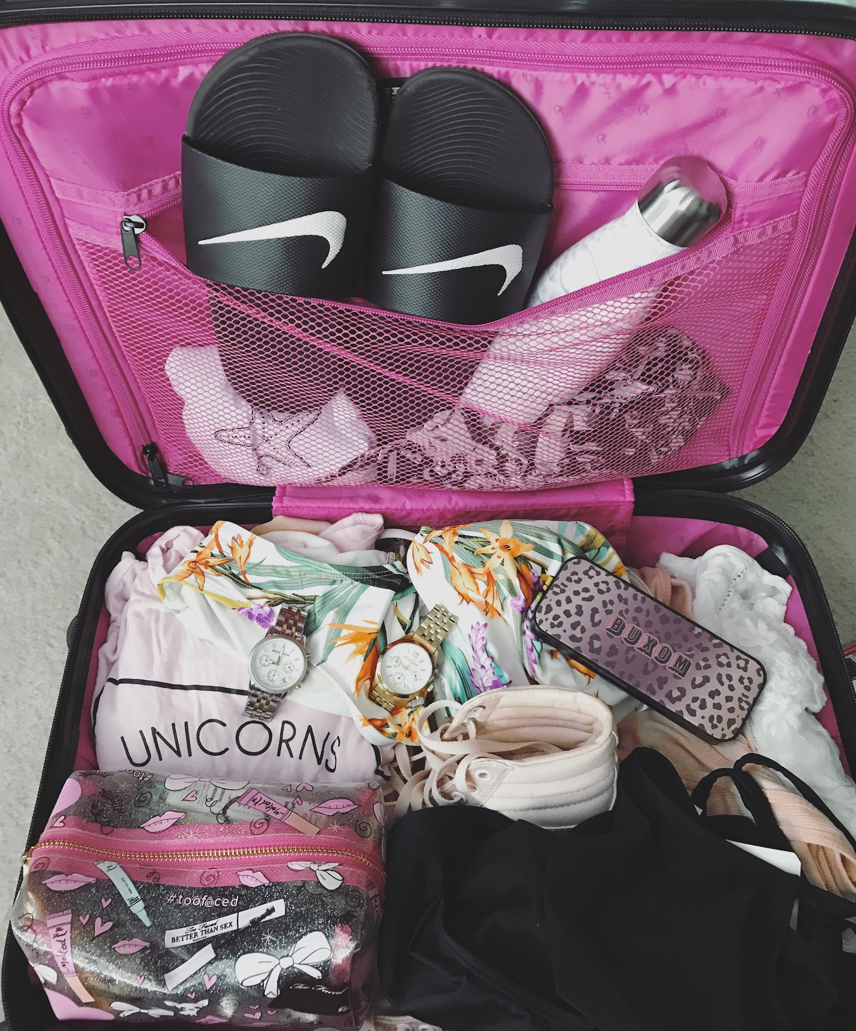 How to pack to LA, California dreamin', gift ideas for teenagers, birthday surprise, give an experience over gifts