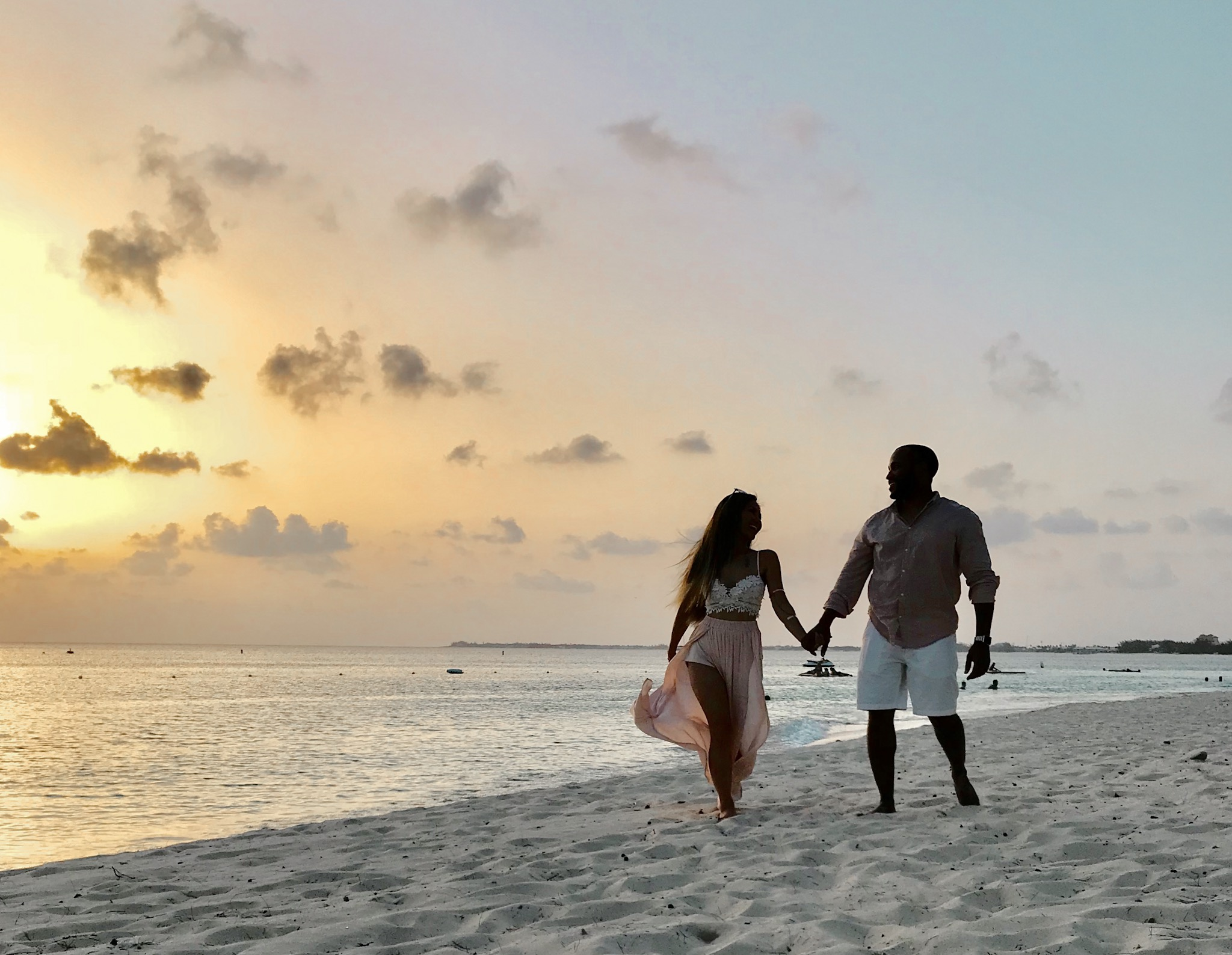 Sunsets in the caribbean, Seven mile beach grand cayman , romantic views in grand cayman