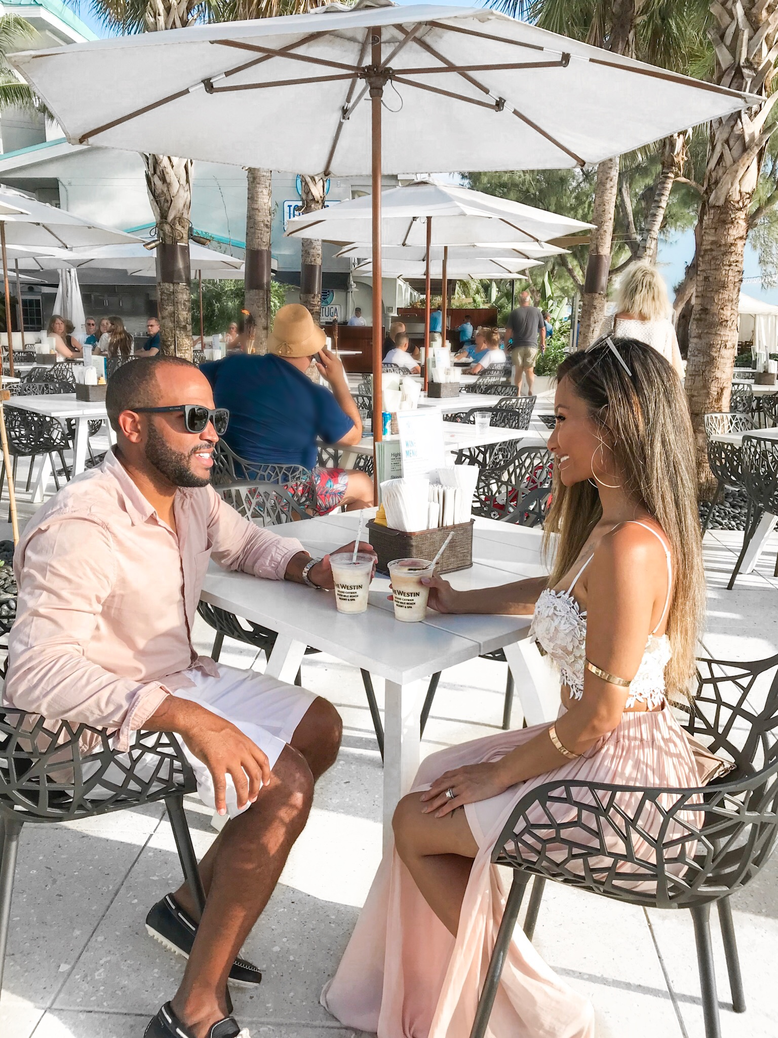 Westin grand cayman, Couple style, stylish couples, blush fashion,Grand Cayman, Westin Grand Cayman, blasian Family, interracial couples, couple goals, relationship goals, cool parents,