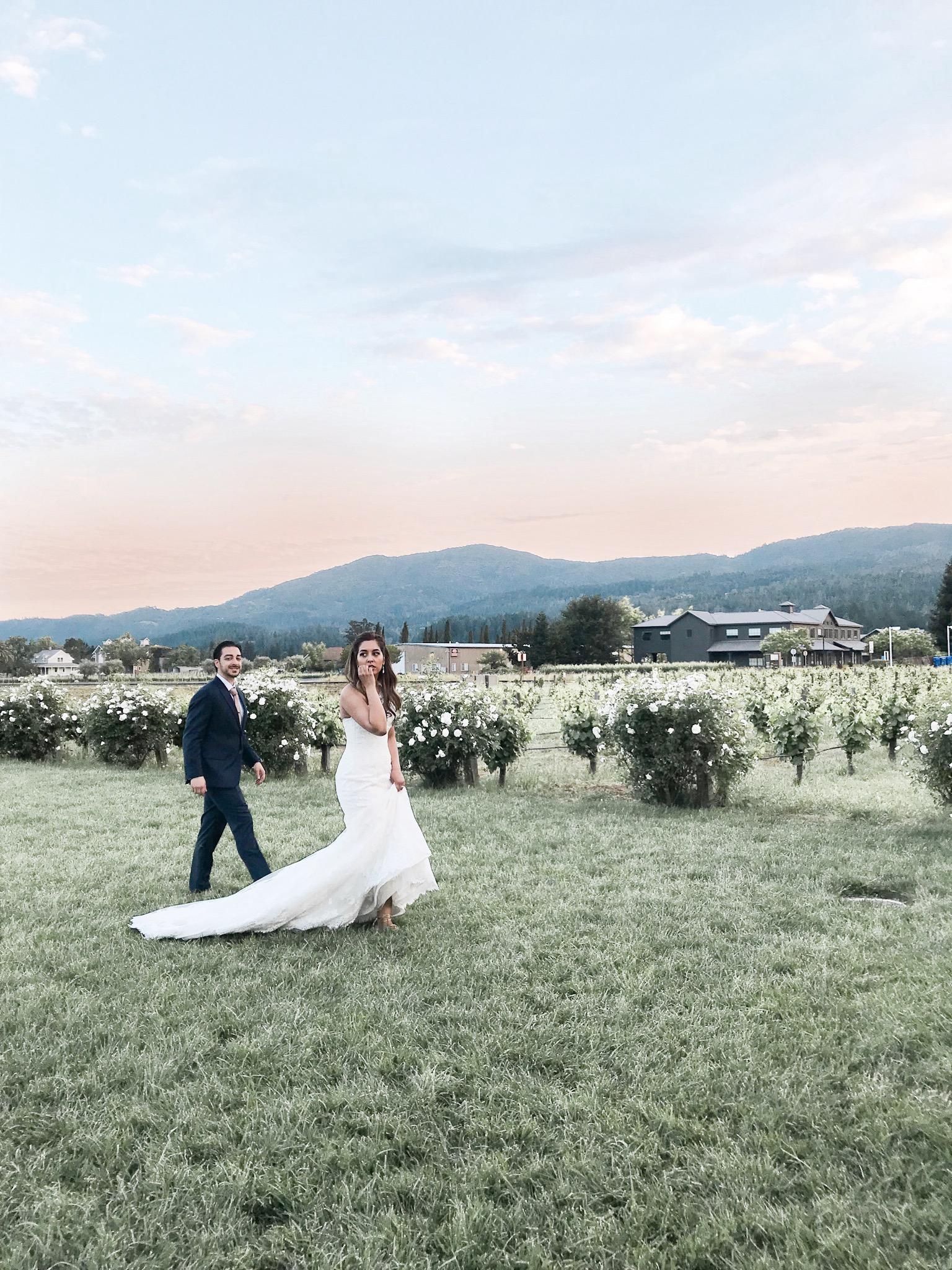 Napa weddings, V. Sattui Winery, Napa Valley,