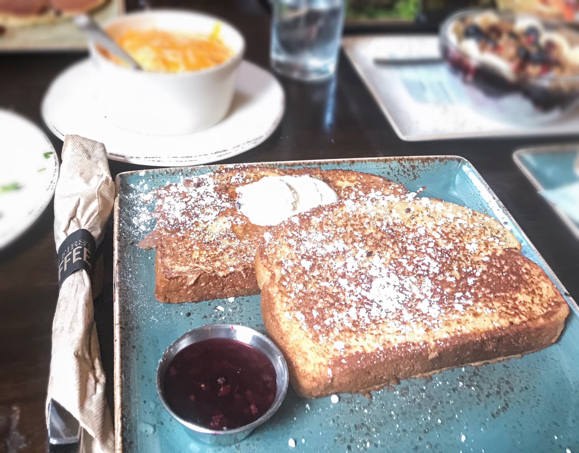 French Toast from First Watch , first watch Matthews